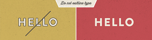 5 Typographic Rules for Non-Designers